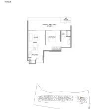 Kingsford Hillview Peak Floor Plan PES Type A7P (sghillviewpeak.com)
