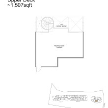 Kingsford Hillview Peak Floor Plan - Penthouse Type B5PH Upper (sghillviewpeak.com)