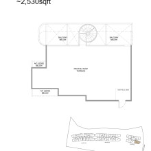 Kingsford Hillview Peak Floor Plan - Penthouse Type D1PH Upper (sghillviewpeak.com)