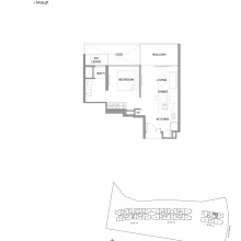 Kingsford Hillview Peak Floor Plan - Type A8 (sghillviewpeak.com)