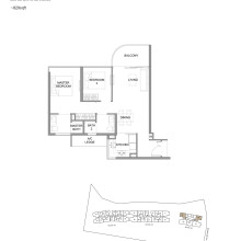 Kingsford Hillview Peak Floor Plan - Type B4 (sghillviewpeak.com)