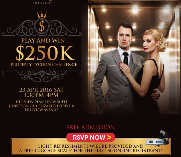Hillview Peak - $250K Pay and win Event 23 April 2016